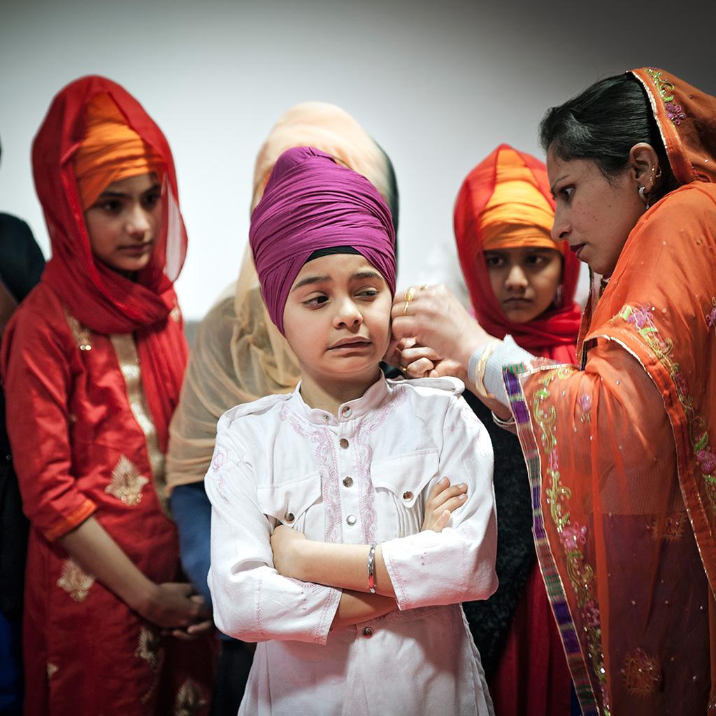 Turban Child Silvia Casali Photography