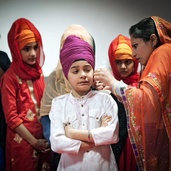 Turban Child Silvia Casali Photography